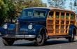 LaSalle Meteor 1940 - limousine 8 cửa vỏ gỗ độc nhất trên đời