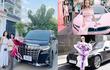 """Hot girl Sam mua """"chuyên cơ mặt đất"""" Toyota Alphard cho mẹ đi chợ"""
