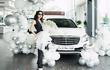 """Mercedes-Benz S450 hạng sang hơn 4,9 tỷ """"về nhà"""" ca sĩ Bảo Anh"""