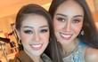 Hành động ghi điểm của Khánh Vân với bạn cùng phòng ở Miss Universe