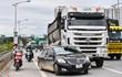 Hiện trường vụ tai nạn khiến tuyến Hà Nội - Bắc Giang ùn tắc 8 km