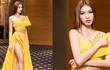Á hậu Ngọc Thảo khoe chân dài 1m1 với váy xẻ cao thót tim