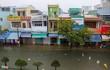 Nhiều khu dân cư ở TP Tam Kỳ ngập sâu