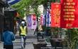 Trang hoàng đường phố chào mừng Đại hội Đảng XIII