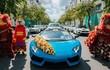 Lamborghini của đại gia Hải Phòng kéo dàn Kia Cerato đi hỏi vợ