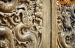 Cận cảnh bộ cửa rồng tuyệt mỹ còn tồn tại của triều Trần