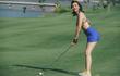 """Nhan sắc gợi cảm đến """"rụng tim"""" của nữ golfer xinh đẹp nhất Việt Nam"""