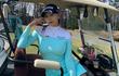 """Nữ golf thủ Hàn Quốc bị châm chọc vì vòng một quá """"khủng"""""""