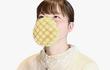 Khẩu trang bánh mì dưa gang có thể ăn được của người Nhật Bản