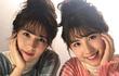 Chị em sinh đôi mang 2 dòng máu Nhật Bản - Iran