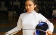 Nhan sắc ngọt ngào của nữ VĐV đấu kiếm Hong Kong