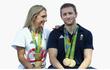 Đôi vợ chồng vàng của môn đua xe đạp tại Olympic