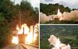 Nóng: Triều Tiên lần đầu phóng thử tên lửa đạn đạo từ tàu hỏa