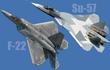 Báo Mỹ: Su-57 Nga sẽ chiến thắng 'chim ăn thịt' F-22 trong thực chiến