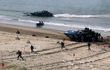 Trung Quốc lần đầu huấn luyện quân y cho chiến dịch đổ bộ