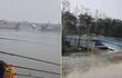 Tiêm kích J-10 Trung Quốc gặp nạn, 2 phi công nhảy dù xuống sông
