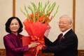 Bà Trương Thị Mai được phân công giữ chức Trưởng ban Tổ chức Trung ương