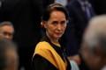 Bà San Suu Kyi lần đầu xuất hiện trực tiếp sau vụ chính biến