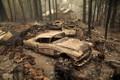 """Cảnh tượng như """"tận thế"""" sau đám cháy rừng dữ dội ở California"""