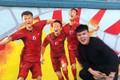 Quê nhà HLV Park Hang-seo nổi bật với loạt bích họa về đội tuyển Việt Nam