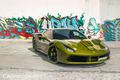 """Ngắm Ferrari 488 GTB """"khoác áo"""" phong cách nhà binh ở Sài Gòn"""
