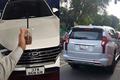 """Mitsubishi Pajero và Hyundai Tucson biển """"lộc phát rởm"""" tại Nghệ An"""