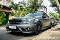 """Mercedes-Benz C63 AMG W204 - """"quái thú"""" 12 năm tuổi tại Việt Nam"""