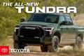 Toyota Tundra 2022 mới lộ diện hàng loạt trang bị hấp dẫn