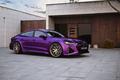 """Audi RS7 """"tím mộng mơ"""", nhưng sẵn sàng cho Bugatti Veyron hít khói"""