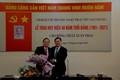 Liên hiệp Hội Việt Nam trao Huy hiệu 40 năm tuổi Đảng cho TS. Lê Xuân Thảo