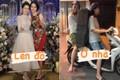 """Bà xã Duy Mạnh rủ chị gái """"đu trend"""" biến hình, netizen giật mình"""