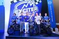 """Kỷ lục 1000 xe Yamaha Exciter lăn bánh tại """"Riding with the King"""""""