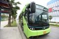 Cận cảnh xe buýt điện Vinfast vừa chính thức lăn bánh tại Hà Nội