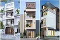 10 mẫu nhà 3 tầng 1 tum chi phí xây rẻ, đẹp hút mắt