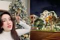 """Cận cảnh """"lâu đài"""" triệu đô của Bảo Thy lộng lẫy mùa Giáng sinh"""