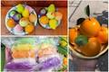 """Bánh bao hình trái cây, xôi ngũ sắc """"hốt bạc"""" ngày Rằm Tháng Giêng"""