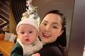 Vợ cầu thủ Duy Mạnh đón tuổi mới bên gia đình