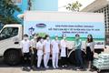 Vinamilk ủng hộ 8 tỷ giúp Hà Nội và 3 tỉnh miền Trung chống COVID-19
