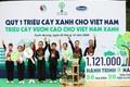 Vinamilk và quỹ 1 triệu cây xanh cho Việt Nam hoàn thành