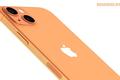iPhone 13 bất ngờ xuất hiện màu cam đẹp lạ, camera xếp chéo
