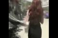 Video: Cướp túi xách của gái xinh, 2 thanh niên bị đánh no đòn