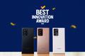 Galaxy Note20 Ultra 5G được bình chọn là chiếc smartphone tân tiến nhất