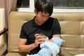 Thảo Trang khoe loạt ảnh ông xã kém 8 tuổi khéo léo chăm quý tử