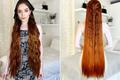 """5 năm không cắt tóc để thành """"công chúa tóc mây"""" phiên bản đời thực"""