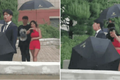 Vì sao vệ sĩ phải mang theo ô khi đi cạnh người nổi tiếng?