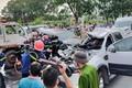 Video: Khoảnh khắc 9 xe ôtô tông nhau liên hoàn khiến 1 người chết