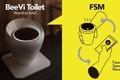 Kinh ngạc thiết kế nhà vệ sinh biến chất thải thành... tiền ảo