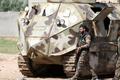 Choáng với chiếc xe tăng tự chế của các chiến binh người Kurd