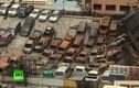 Video hiện trường vụ cháy khủng khiếp thiêu rụi 600 xe sang