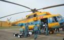 Trực thăng không quân Việt Nam hỗ trợ diễn tập thực binh phòng chống COVID-19